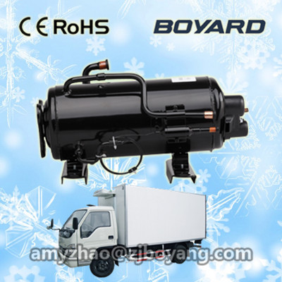 Refrigeration Parts Application and Refrigeration Compressor Type Battery driven Compressors for cold chain refrigerated truck dong qu manufacturing and managing customer driven derivatives