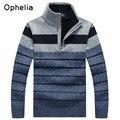 Camisolas dos homens Quentes Espessamento Inverno Ocasional Pullover Suéteres de Cashmere Homem Malhas Roupas plus size M-3XL Dos Homens Blusas