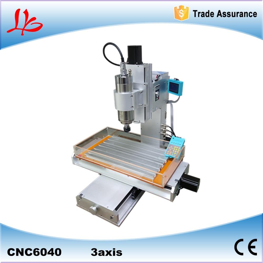 high performance pillar type CNC 6040 3axis engraving machine table column type mini CNC router  high precision table moving 4 axis cnc mini router 3 axis mini cnc router metal engraving machine 3030 4040 6060