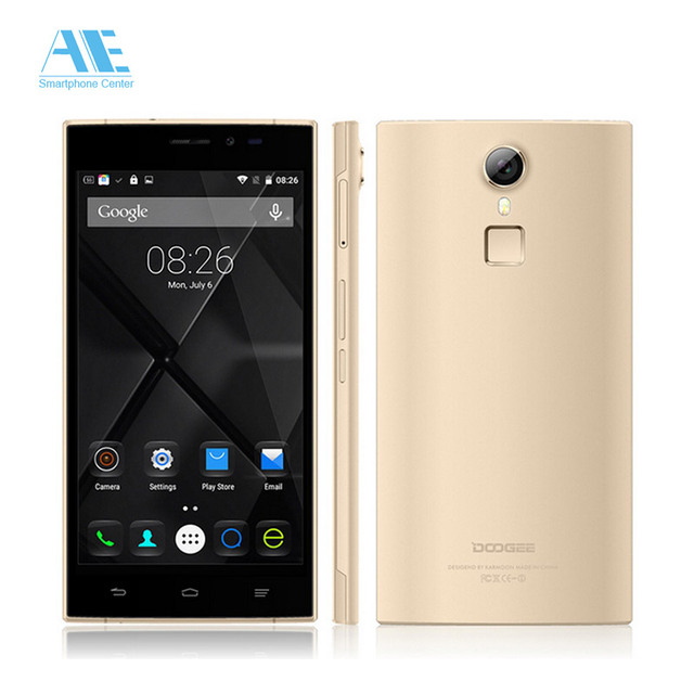 DOOGEE F5 5.5inch Android 5.1 MTK6753 Octa Core Cellphone,Ram 3GB+Rom 16GB Smartphone,4G LTE Fingerprint ID Mobile Phone