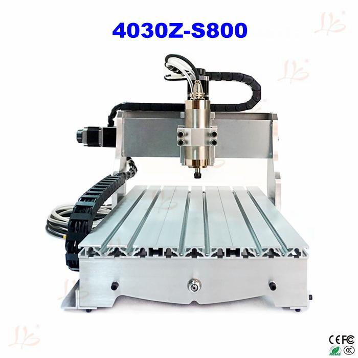 metal engraving CNC 4030Z-S800 Router Engraver/Engraving Drilling and Milling Machine cnc 3020 router engraver engraving drilling milling machine wood pmma plastic