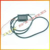 0.56 'красный светодиод контроля постоянного тока температуры метр-55-125 градусов Цельсия зонд термометра ds18b20 в датчик зонда 1 мете-10000199