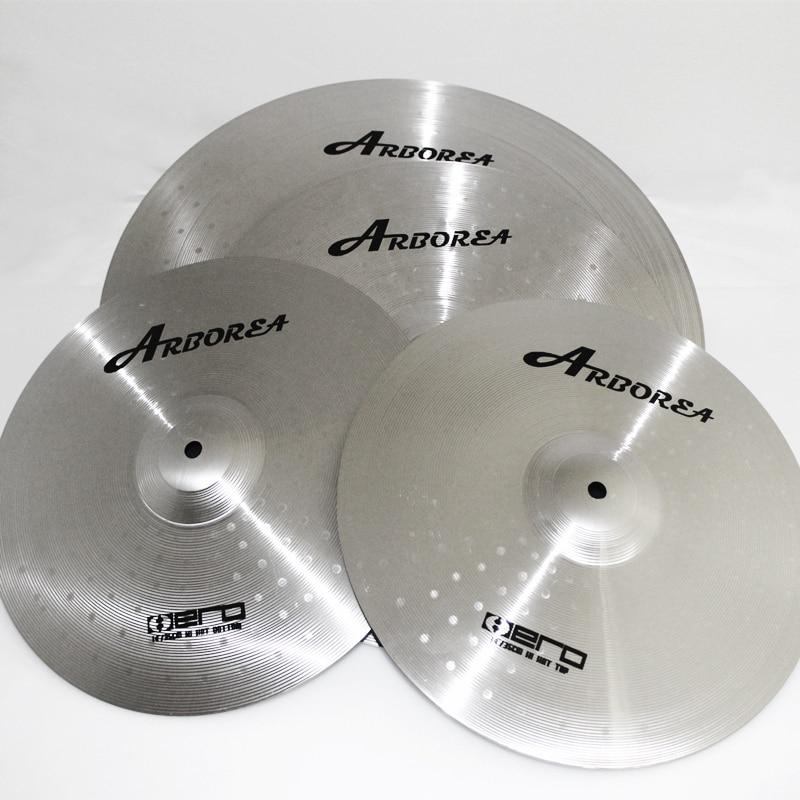 Musical instrument percussion Arborea cymbals Hero Set For New Drummers(14hihat+16crash+20Ride+Bag)  MMMusical instrument percussion Arborea cymbals Hero Set For New Drummers(14hihat+16crash+20Ride+Bag)  MM