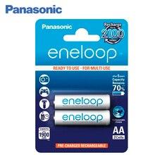 Panasonic BK-3MCCE/2BE Аккумуляторы eneloop 1900 мАч AA R6 BL2. Топовая модель высокой емкости и производительности для активных пользователей мощной техники (вспышка для фотокамеры, радиоуправляемые игрушки и пр.)