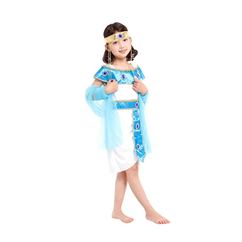 Fantasia Girls Princess Cleopatra Cosplay Showing Cloth Halloween Greek Goddess Athena Costume Children S Day Performance Dress Greek Goddess Greek Goddess Dresshalloween Costumes Dresses Aliexpress