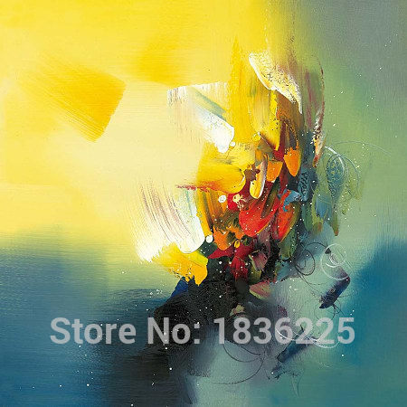 handmade colorful abstract paintings on canvas for room wall picture