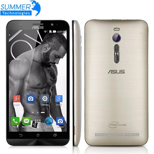 Оригинальный ASUS ZENFONE 2 ZE551ML 4G LTE FDD Android 5.0 Quad Core 5.5 Дюймов 1920x1080 13.0MP NFC Мобильный Телефон
