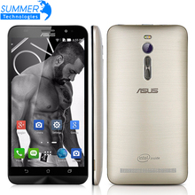 Original ASUS Zenfone 2 ZE551ML 4G LTE FDD Android 5.0 Quad Core 5.5 Inch 1920×1080 13.0MP NFC Mobile Phone