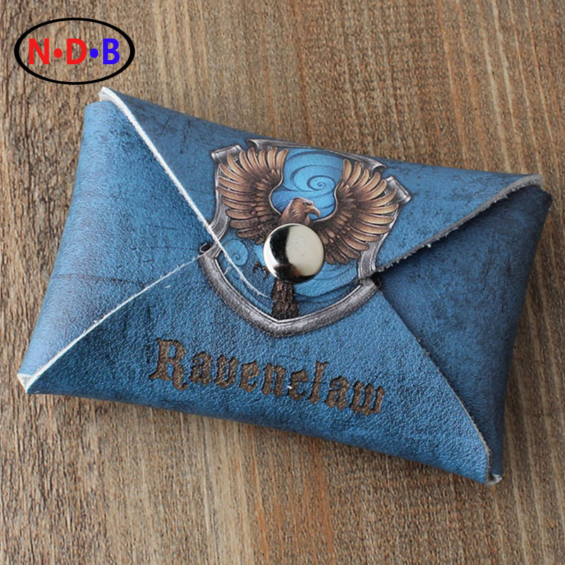 (Coin Purses) New pattern fashion Mini type coin purse Potter Harry Ravenclaw Pattern coin bag LQB1085