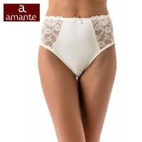 eb2ed4139a17 Briefs High Waist Lace Briefs White Plus Size Panties XXL XXXL ARDI Amante  Free Delivery N1003