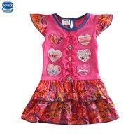 Chindren Casual Dress Baby Girl Dress Nova Brand Kids Girl Princess Dress Kids Clothes Meninas Vestir
