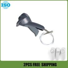 2pcs Retail anti theft tag detacher,AM 58Khz handheld detacher eas,gun detacher for super security tag free shipping