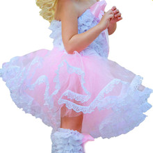 2-8Y Princess Kids Girl Multi layer Tulle Party Dance Skirts Short Cake Tutu Skirt Style
