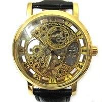 видеть сквозь золотые тона механические мужские/женские часы