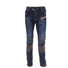 RidingTribe HP-05 Jeans Racing Motorcycle Protective Pants Men MX ATV Trouser With CE Knee Pads Motocicleta Pantalon Moto Black