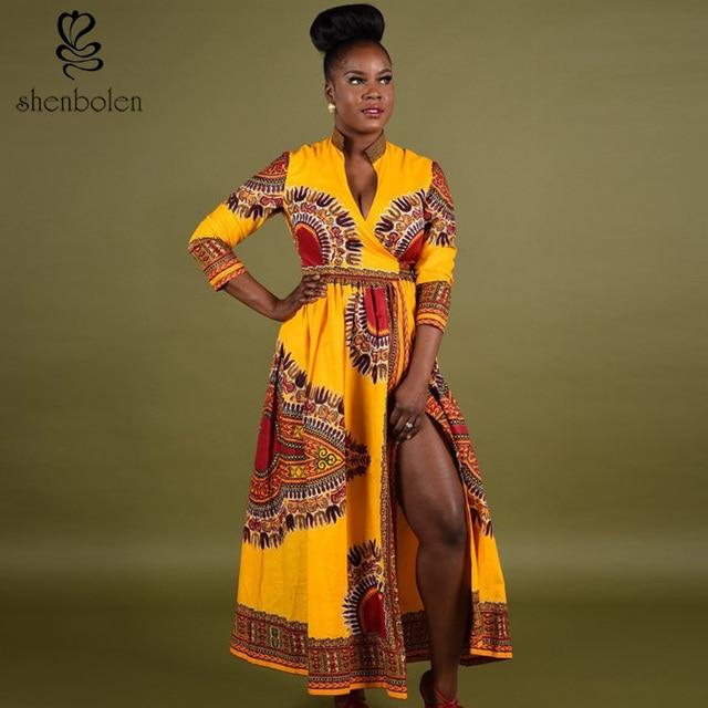 tissu africain en robe