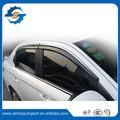 Melhor qualidade 4 Pcs carro janela Visor vento Defletor Sun guarda chuva Defletor para Peugeot 301