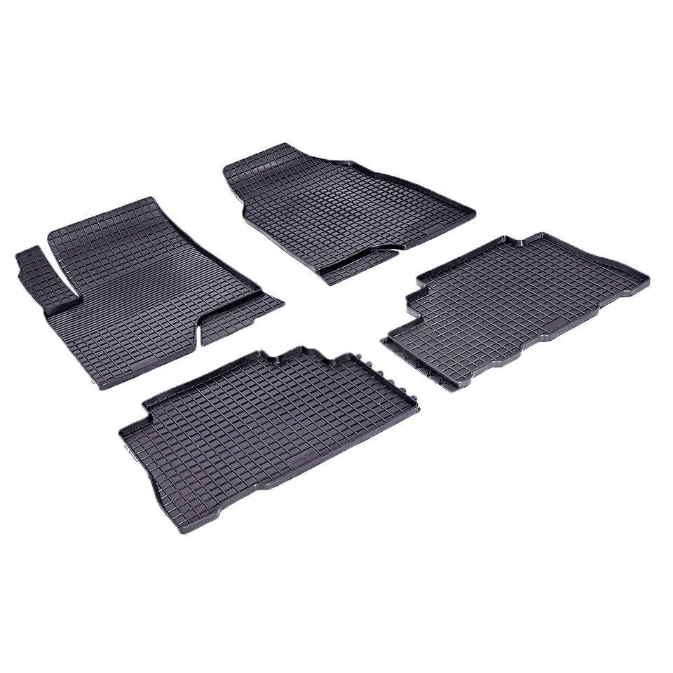 цена на Rubber grid floor mats for Chevrolet Captiva II 2013 2014 2015 Seintex 84873