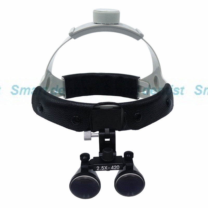 2016 fast shipment 2.5X times enlarge easy wearing surgery operation surgical Magnifier Dental Loupe lc designs co ltd lcd 73237