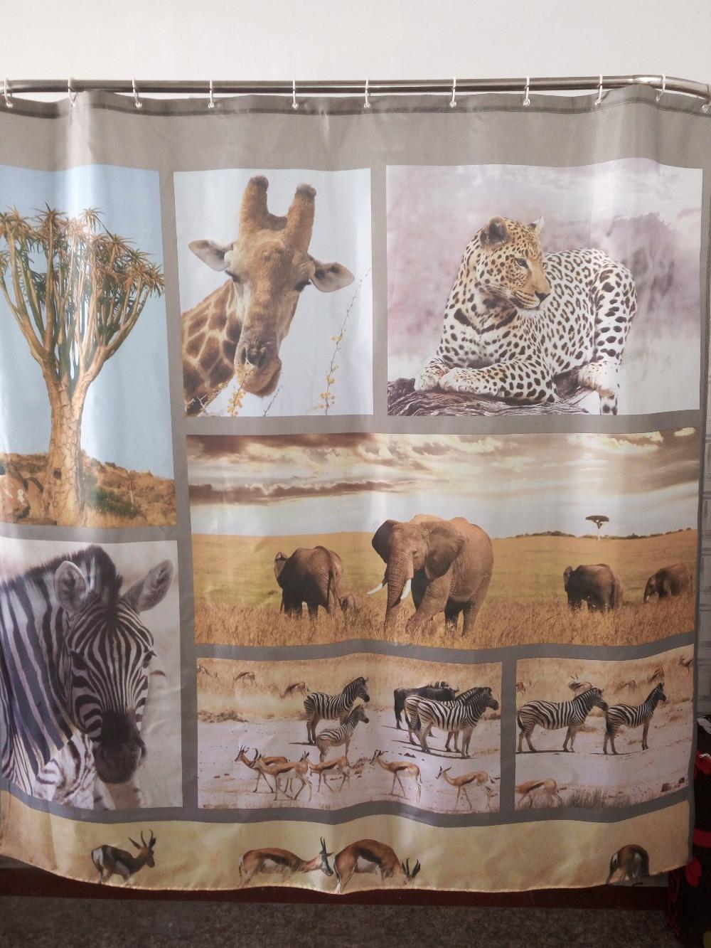 Popular wildlife bathroom buy cheap wildlife bathroom lots for Zoo bathroom decor