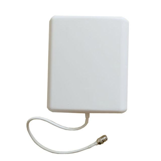 Interior o exterior de La Pared Panel de 10 dBi Omnidireccional Repetidor antena para GSM 3G CDMA DCS repetidor del amplificador de la ayuda 3G de red