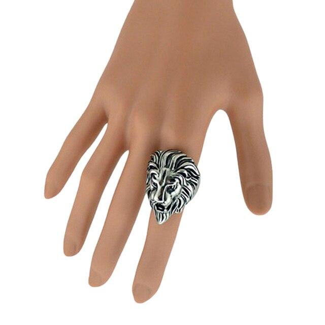 Kings Patriot Lion Ring