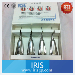 New 4 Pieces/Kit Stainless Steel Dental Luxating Elevators Dental Lab Instruments Surgical Tools Straight