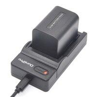 Durapro 2 Pcs 7 4V 1pcs Battery NP FV70 NP FV70 Rechargeable Camera Battery USB Digital