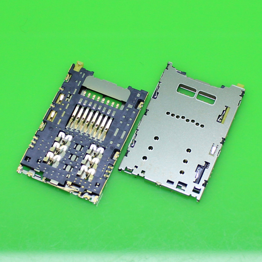 2PCS/lot,Brand new for Sony Xperia Z5 du E6603 E6633 E6653 E6683 SIM card reader connector socket module