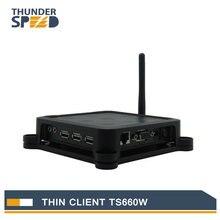 Lastest TS660W Беспроводной ARM11 Win CE 6.0 OS Сетевой Терминал Тонкий Клиент Чистая Компьютер Обмен