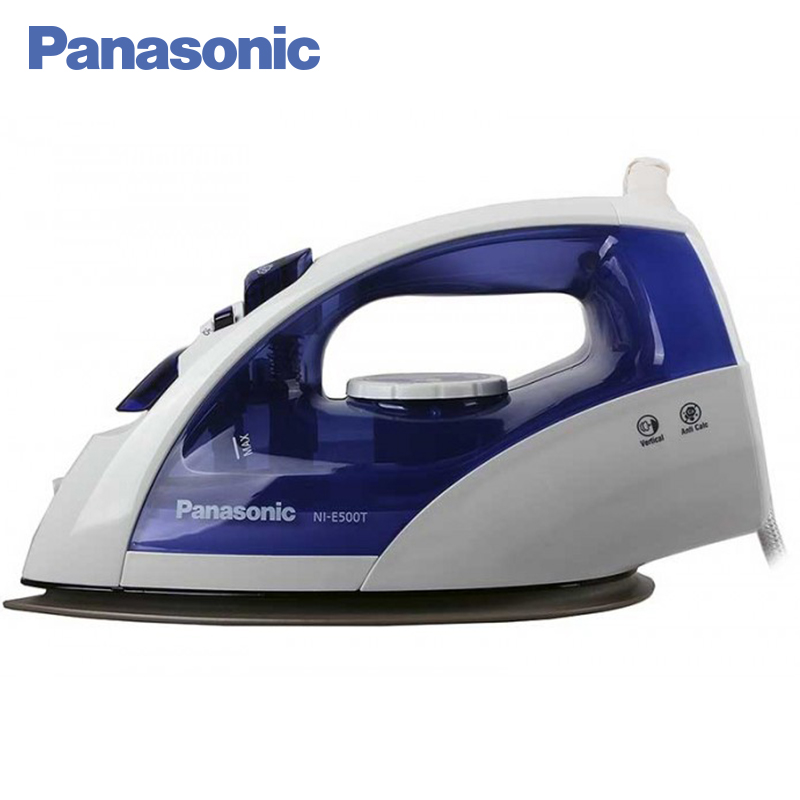 Panasonic NI-E510TDTW Electric Iron 2380W Water spray function Anti-scale system Self-cleaning function Temperature regulator cleaning brush with spray