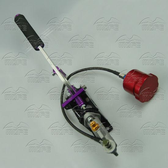 Drift Hand Brake Hydraulic Handbrake With Red Oil Tank for Hand Brake Fluid Reservoir E-brake  DSC_0078