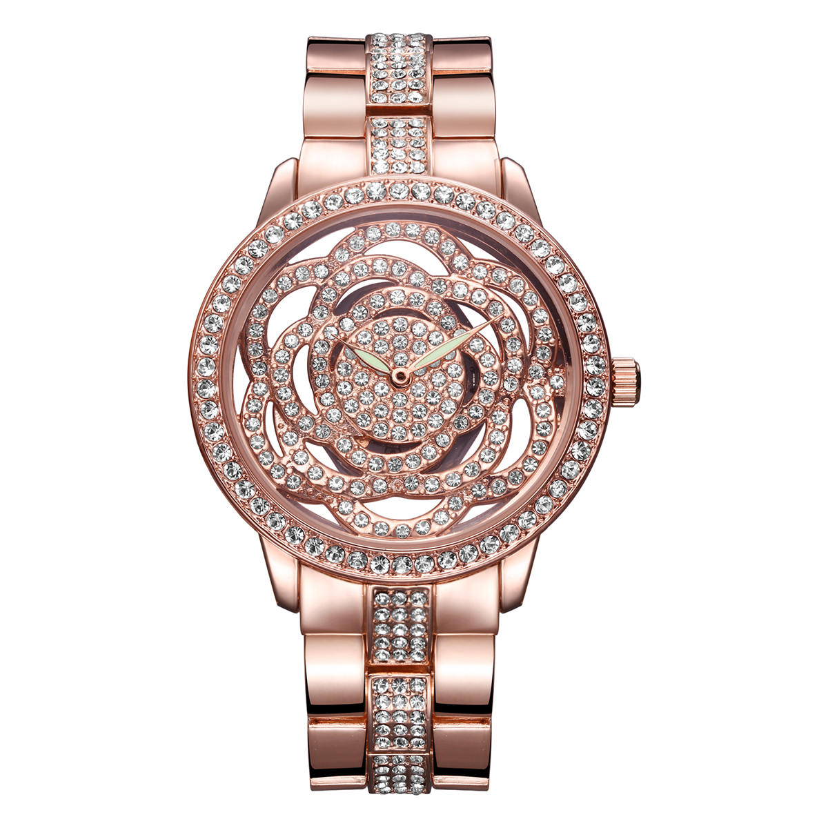 WEIQIN Women Watches Luxury Rose Gold Watch Woman Diamond Full Stainless Steel Lady Watches Fashion Dress Watch Relogio Feminino купить
