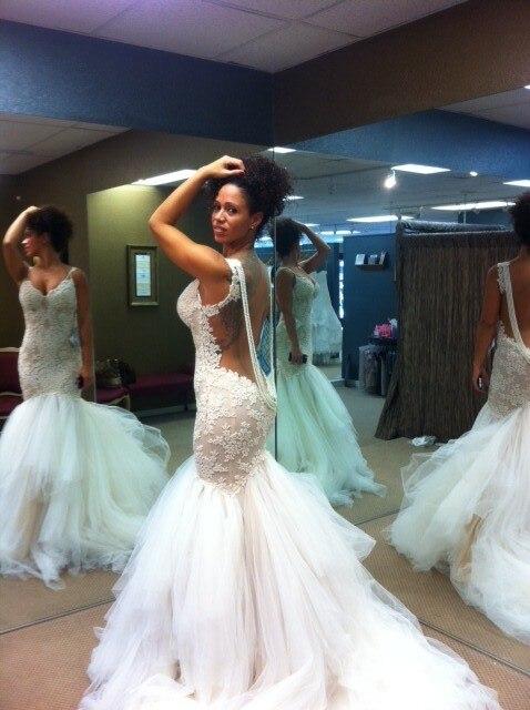 Fitting Wedding Dresses Mori Lee 5108 Asymmetrical fitted wedding