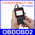 Запуск Creader V + OBDII Код Сканер CReader V Plus 100% Оригинал Же, Как Creader VI Поддержка Нескольких Языков бесплатная Доставка