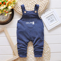 Spring baby overalls striped pants four colors cotton baby boy/girl pants