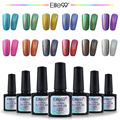 Elite99 Neon Color Rainbow Gel Polish Varnish Metallic Top Coat Needed UV Soak Off Bling Gel Lak Nail Art Gel Polish