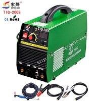 Tig Welder Inverter Welder Tig Welding Multifunction Mini Inverter DC TIG/MMA Welding Machine TIG 200S Accessories