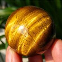 139 г 45 мм красивый натуральный тигровый глаз Хрустальный шар Сфера Исцеление Китай
