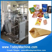 Doypack Pouch Bag Feeding Filling Sealing Packing Machine