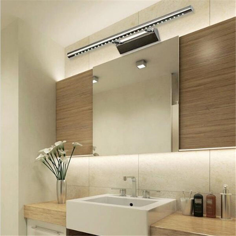 LED Mirror Light 5W Vanity Bath Lighting Fixture High Quality LED Lamp With  ON/OFF Switch AC85 265V In LED Indoor Wall Lamps From Lights U0026 Lighting On  ...
