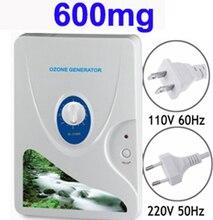 Droshipping 600 мг/ч Генератор Озона Озонатор Колеса Таймер Очистители Воздуха Масло Растительное Мясо Свежее Очистить Воздух Вода