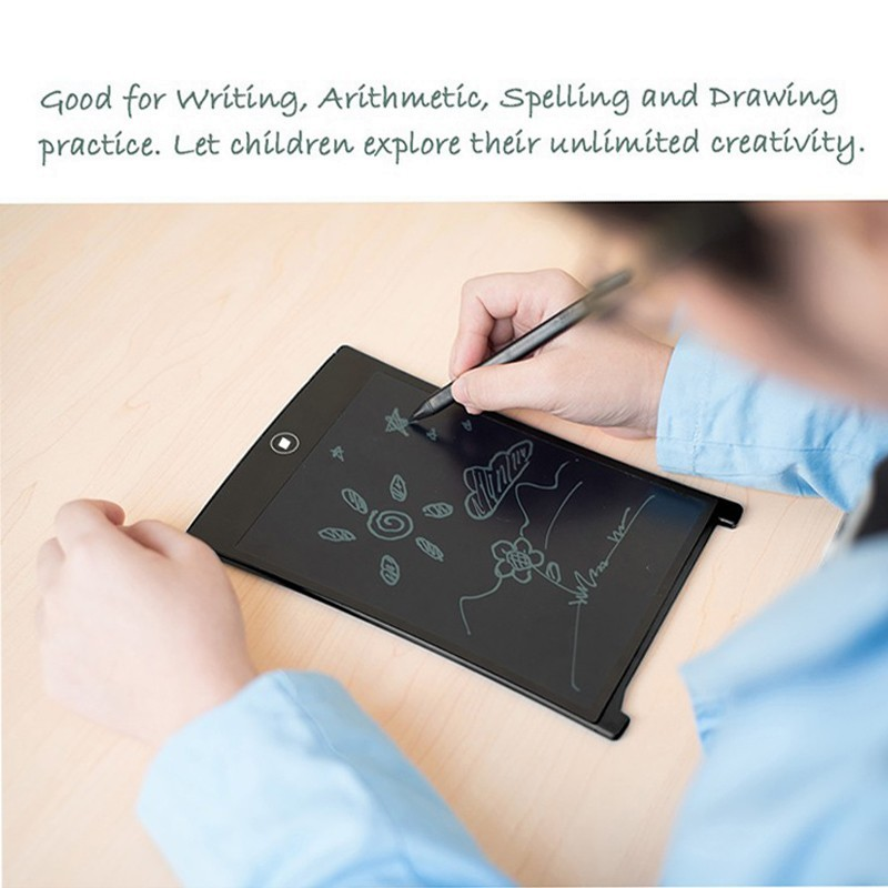 Human - LCD Writing Tablet Erase Drawing Tablet Electronic Paperless Handwriting Pad