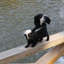 realistic lifelike skunk toy
