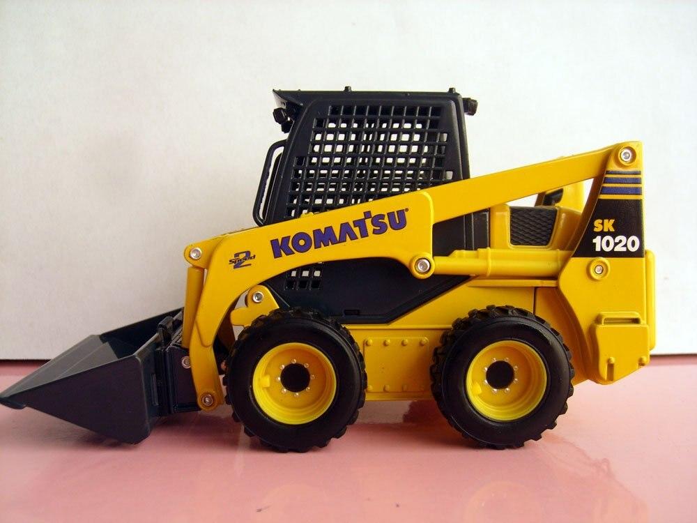 1:25 Komatsu SK1020 с бортовым поворотом игрушка погрузчик