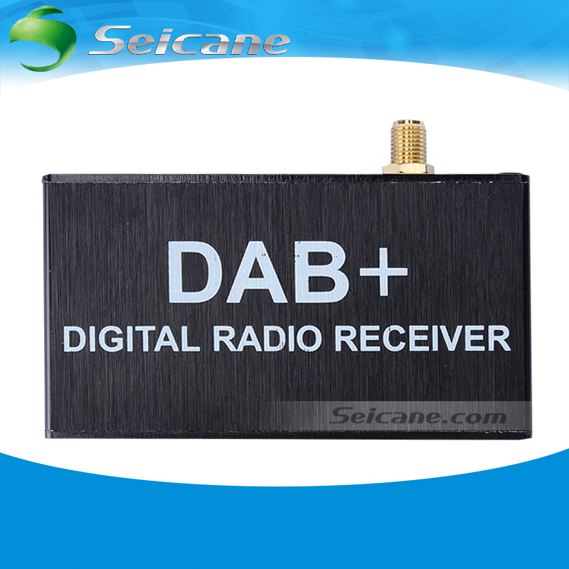 Seicane Mini Portable High Quality Sound Digital Radio Receiver DAB+ Radio Tuner universal car dab radio receiver tuner with fm transmitter converter plug and play adapter antennas for communications