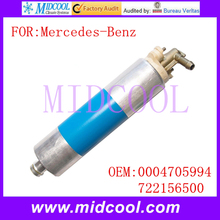 New Auto Electric Fuel Pump use OE NO. 0004705994 , 722156500 for Mercedes-Benz