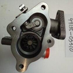 Elektrische tf035 turbo kit 49135-03310 49135-03130 md202579 md202578 voor mitsubishi pajero 4m40 motor