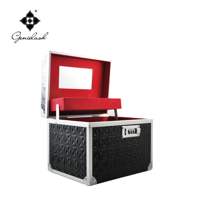 Genie negro Kit de extensión de pestañas con calidad necesaria accesorios de pestañas para extensión de la pestaña