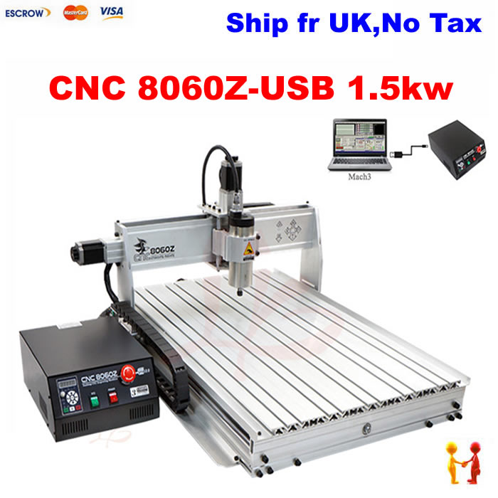 Aliexpress.com : Buy No tax ship from UK!2016 new 3 axis mini cnc engraving machine 8060Z USB ...